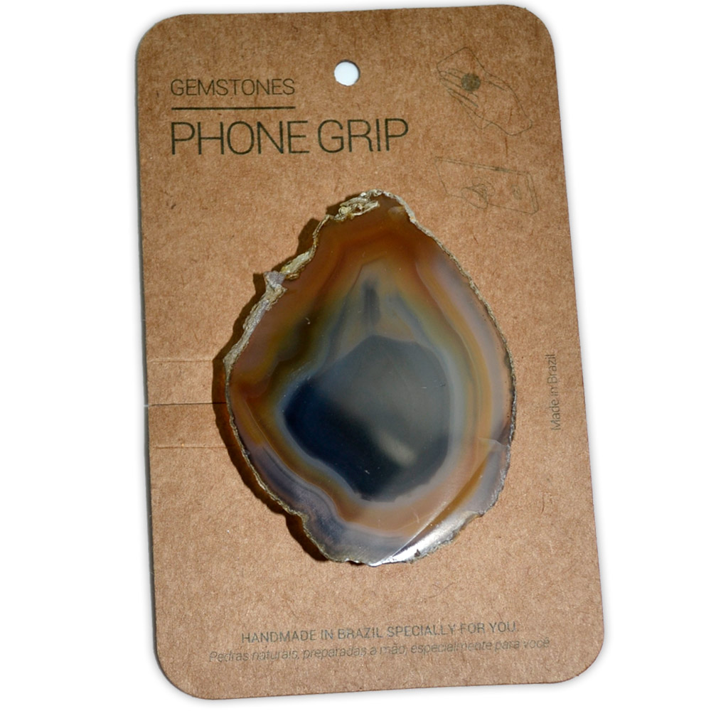 Suporte para Celular (Phone Grip) - Pedra Ágata