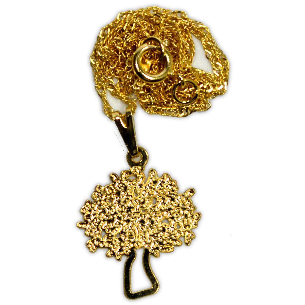Talismã Colar Árvore - Dourado