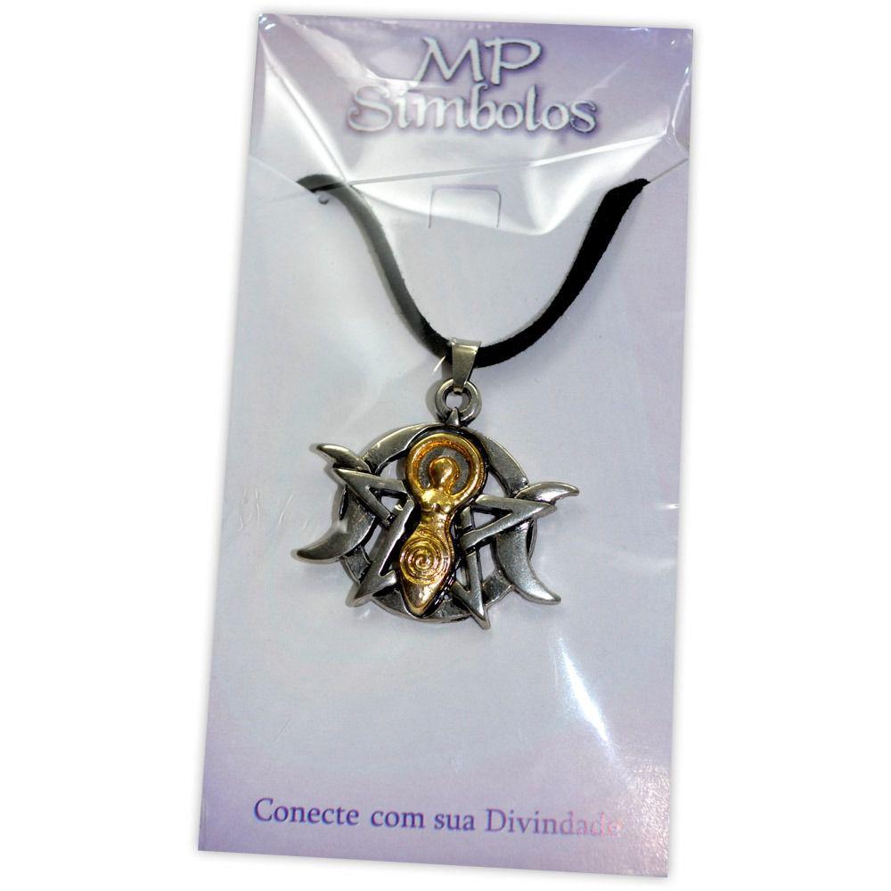 Talismã Pentagrama Deusa Espiral