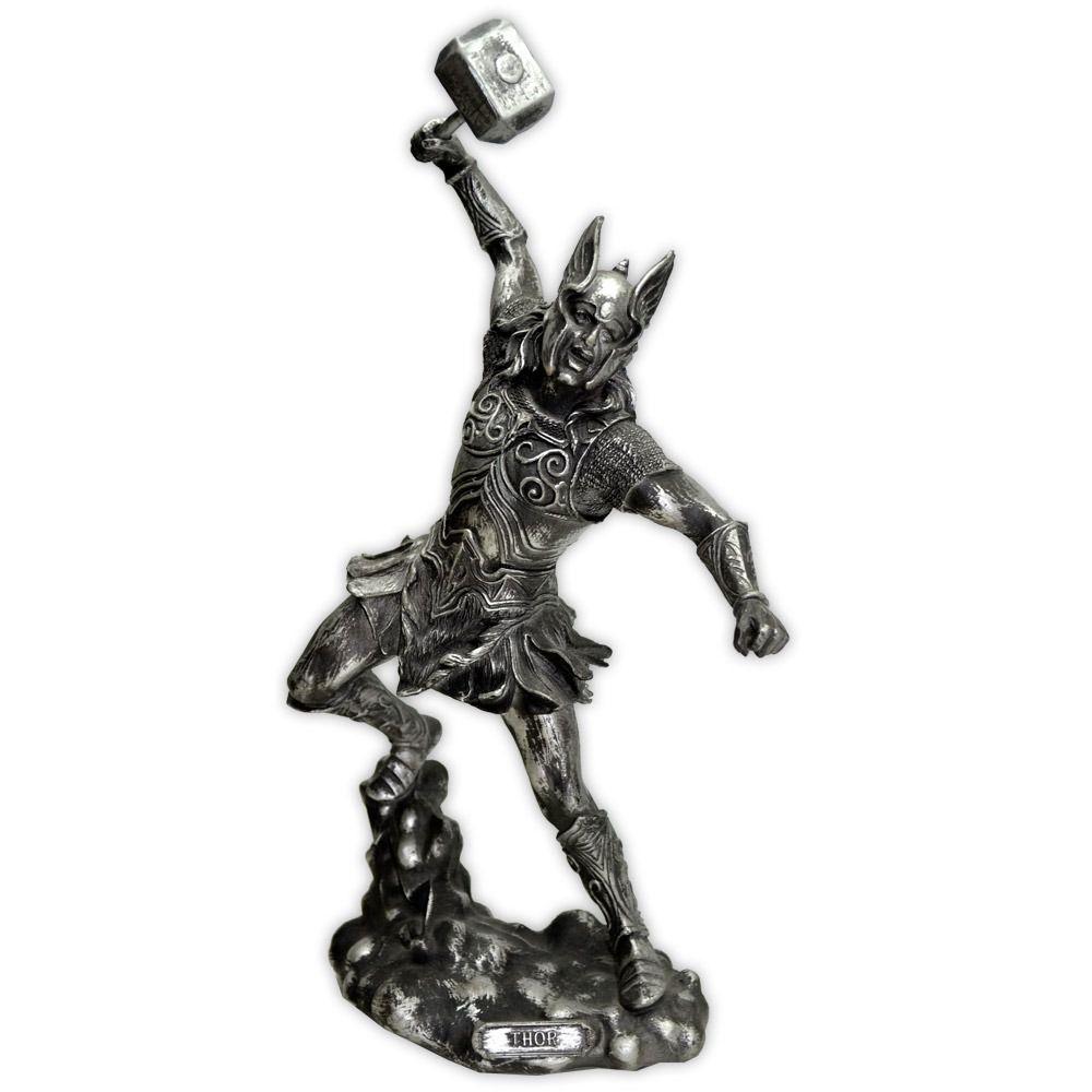 Thor, Deus dos Trovões e Protetor da Humanidade - Prateado mod. 2