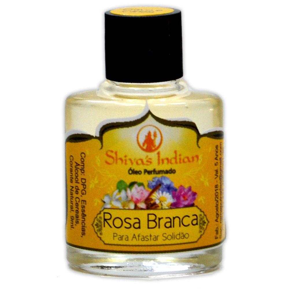 Óleo Shivas Indian Rosa Branca - Para Afastar Solidão
