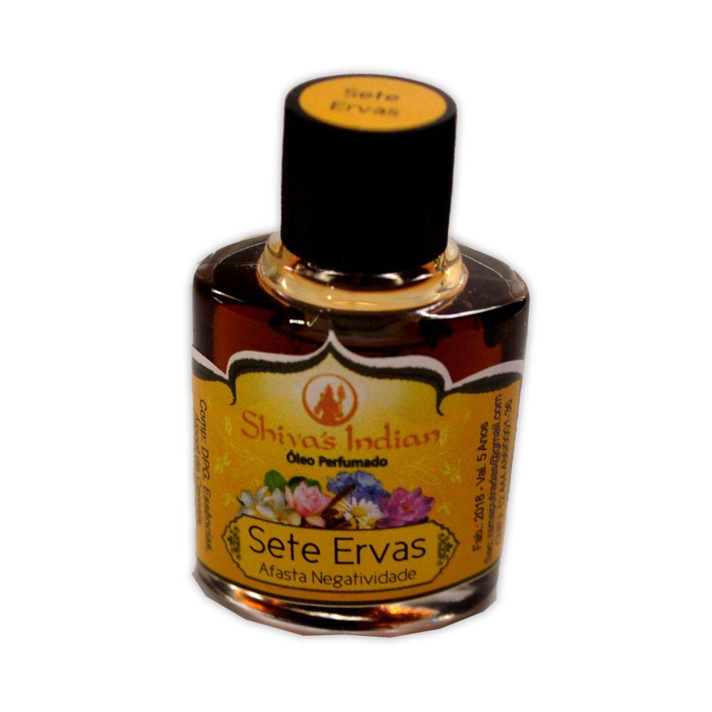 Óleo Shivas Indian - Sete Ervas