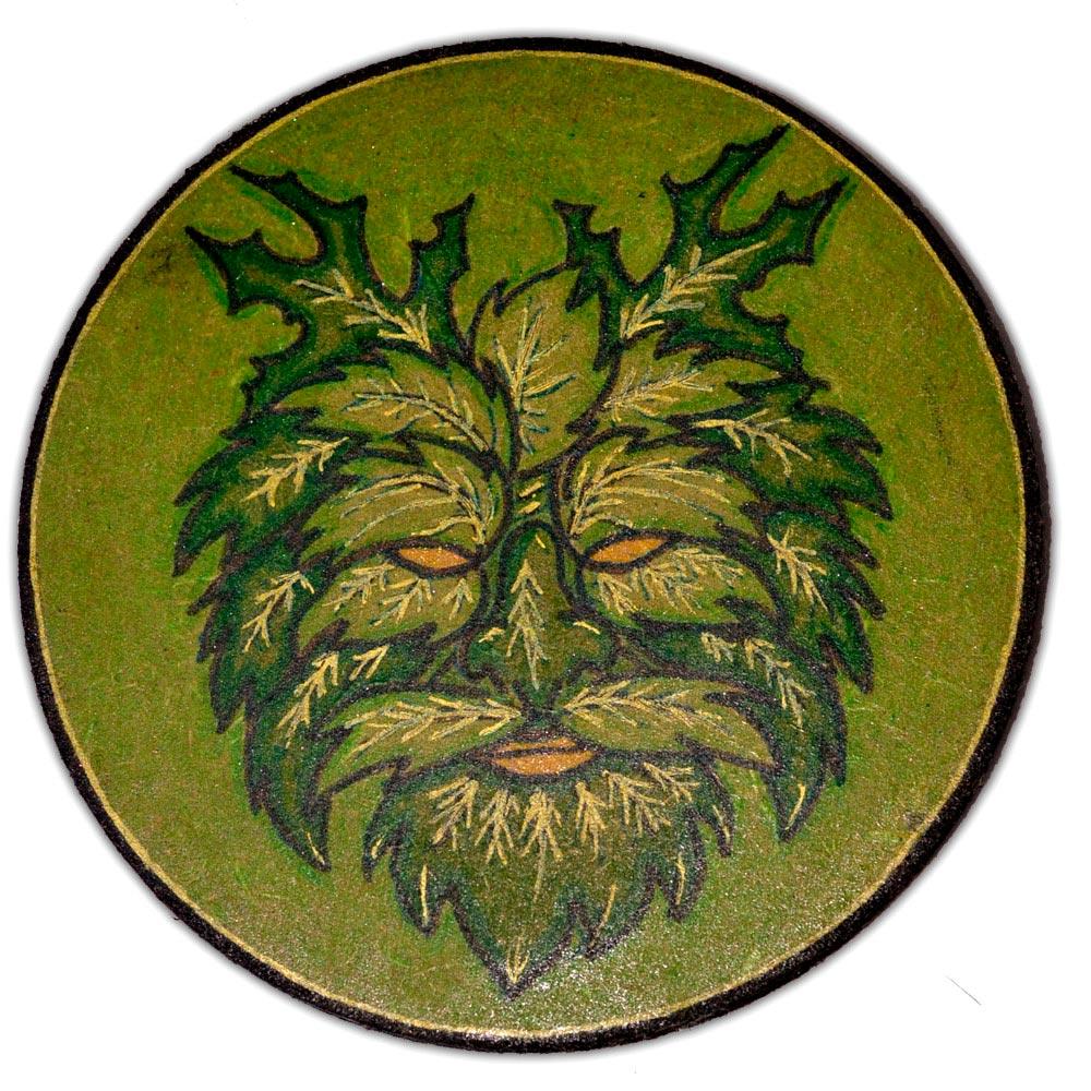 Pantáculo 10cm - Green Man