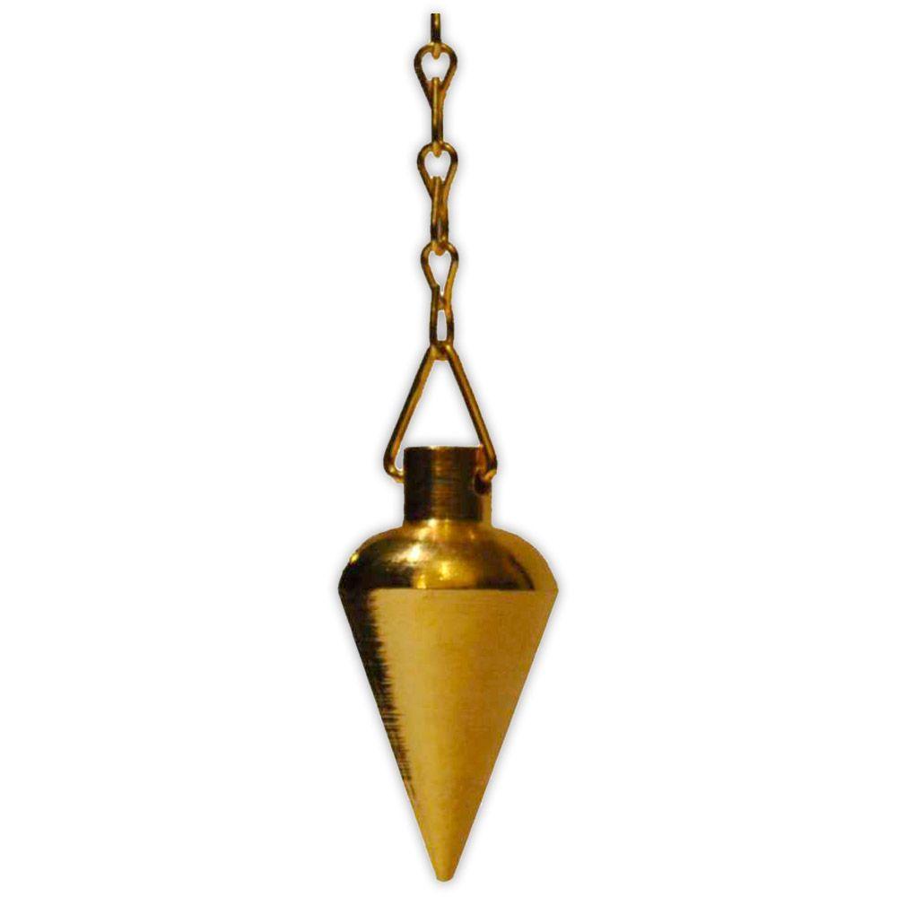 Pêndulo Pião  Dourado