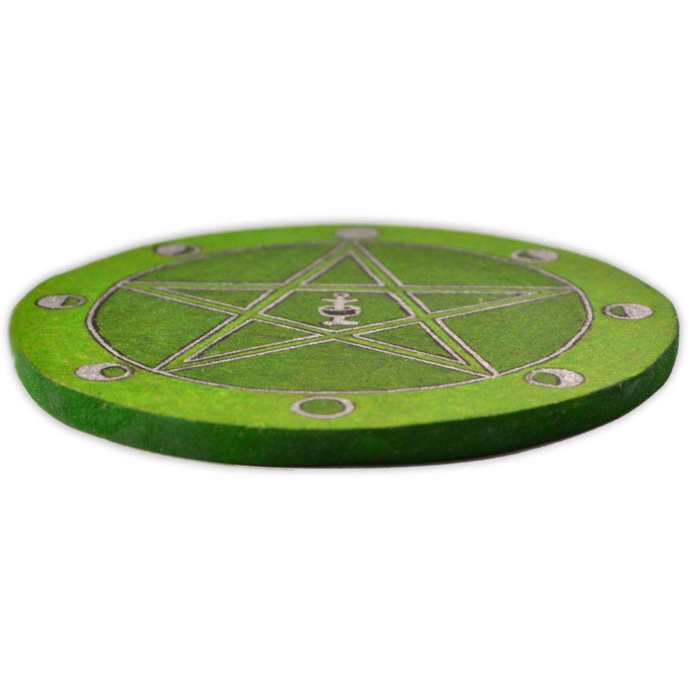 Pentáculo 10cm - Grande Rito Verde