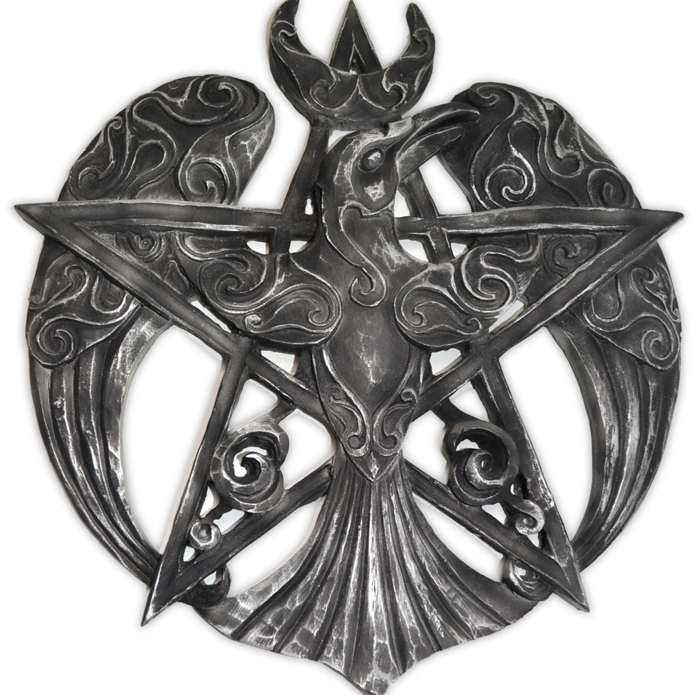Pentagrama Corvo de parede