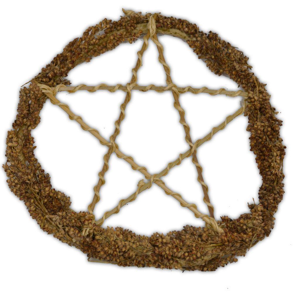 Pentagrama de Bambu e Junco