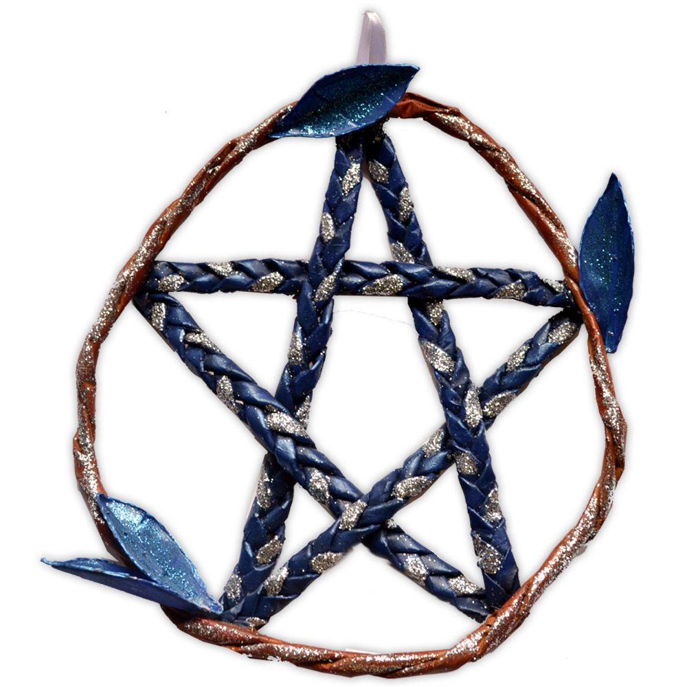Pentagrama de Porta - Azul Índigo