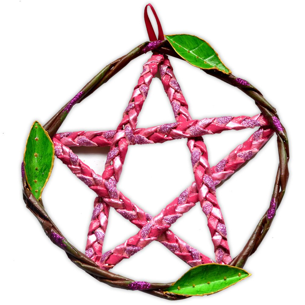 Pentagrama de Porta - Rosa