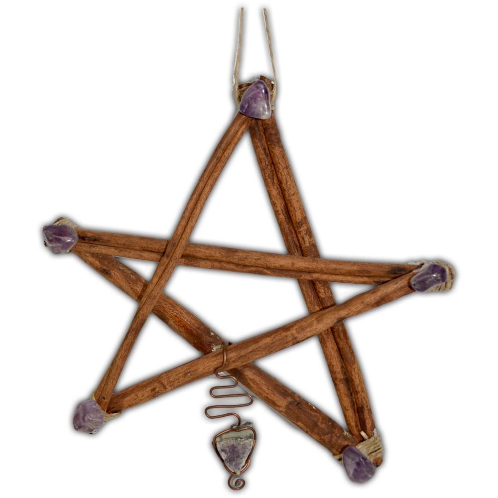 Pentagrama em canela (2)