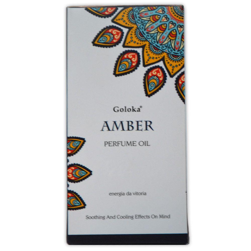 Perfume Indiano Âmbar - Energia da Vitória