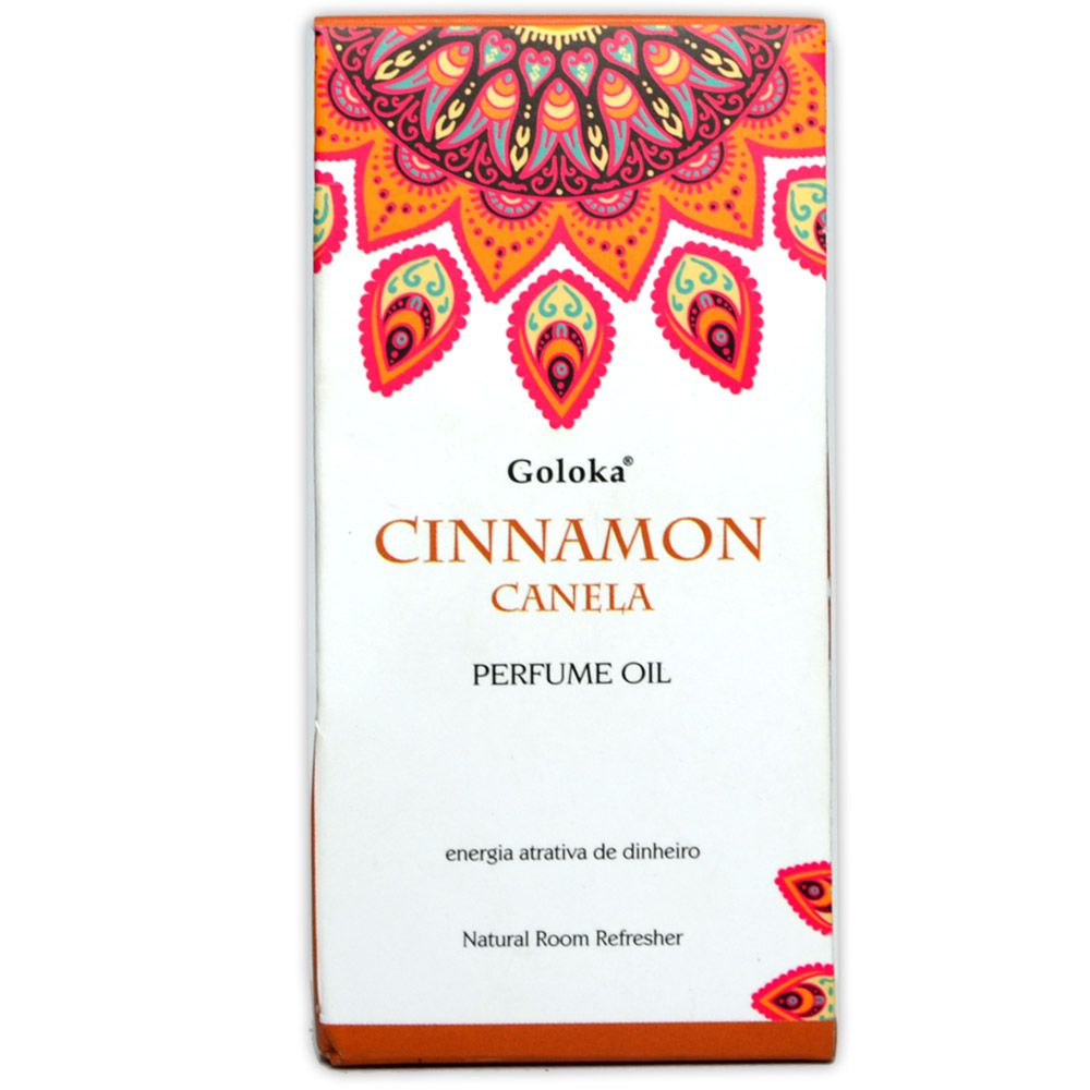 Perfume Indiano Canela - Energia Atrativa de Dinheiro