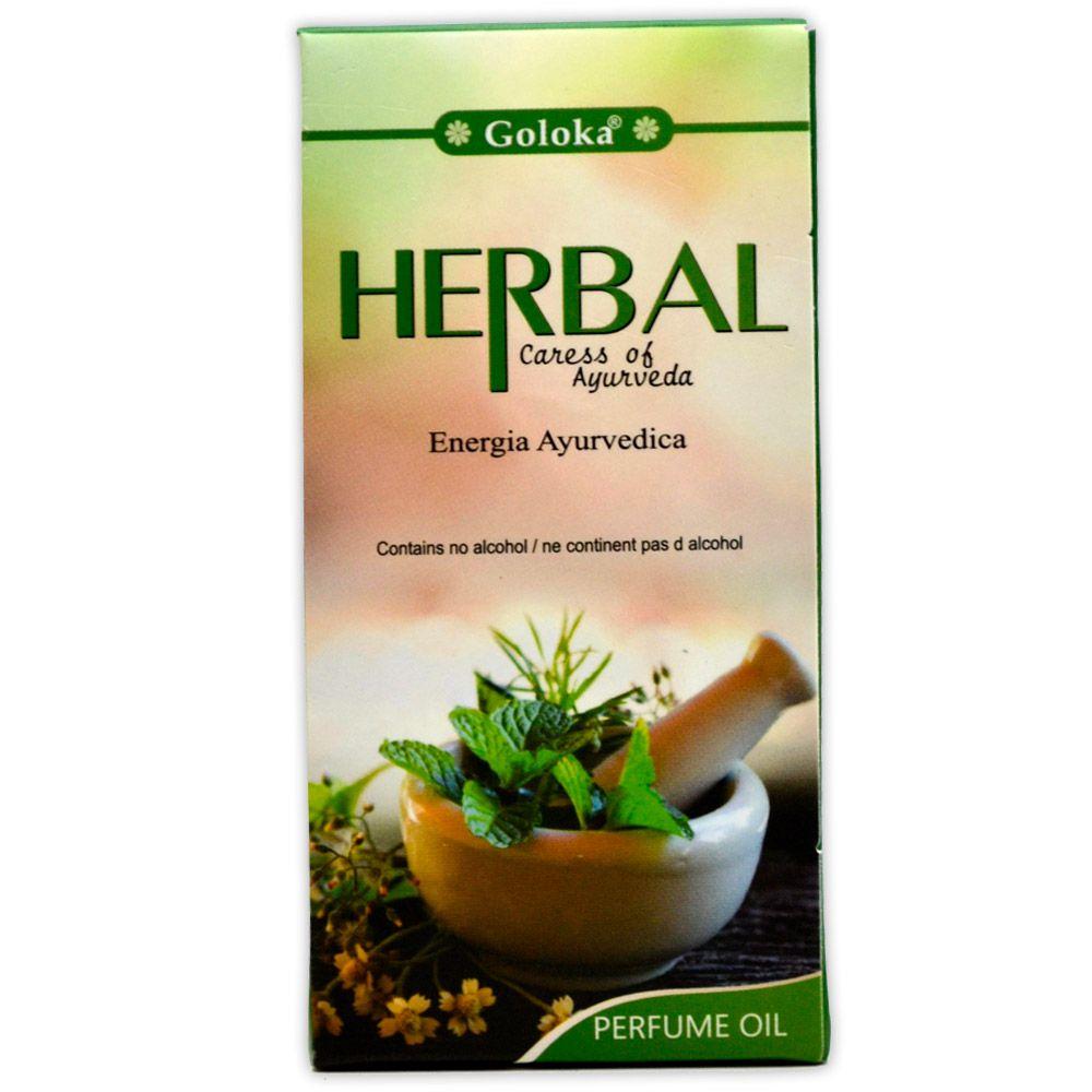 Perfume Indiano Herbal - Energia Ayurvédica