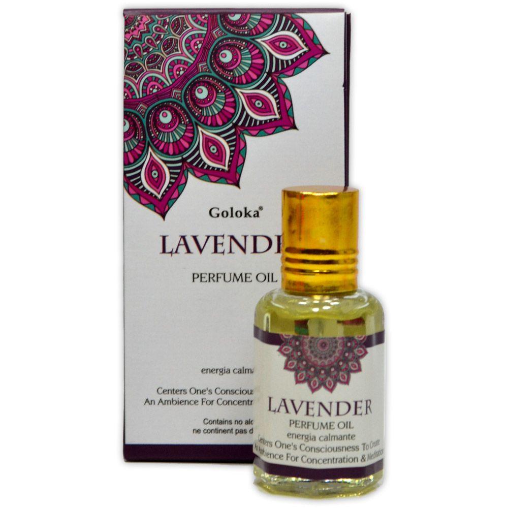 Perfume Indiano Lavanda - Energia Calmante