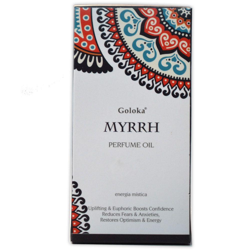 Perfume Indiano Mirra - Energia Mística