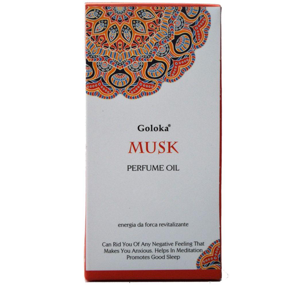 Perfume Indiano Musk - Energia da Força Revitalizante