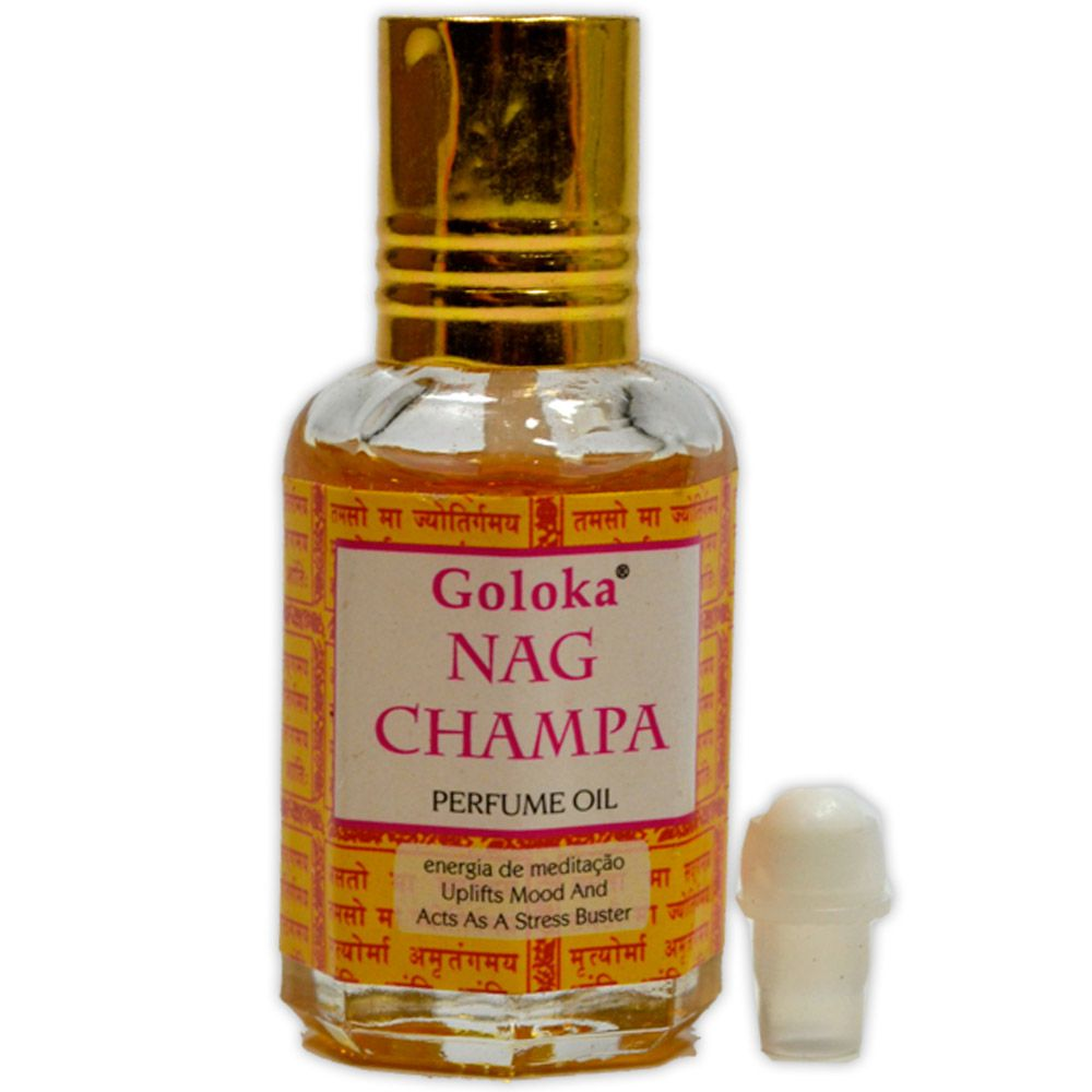 Perfume Indiano Nag Champa - Energia de Meditação