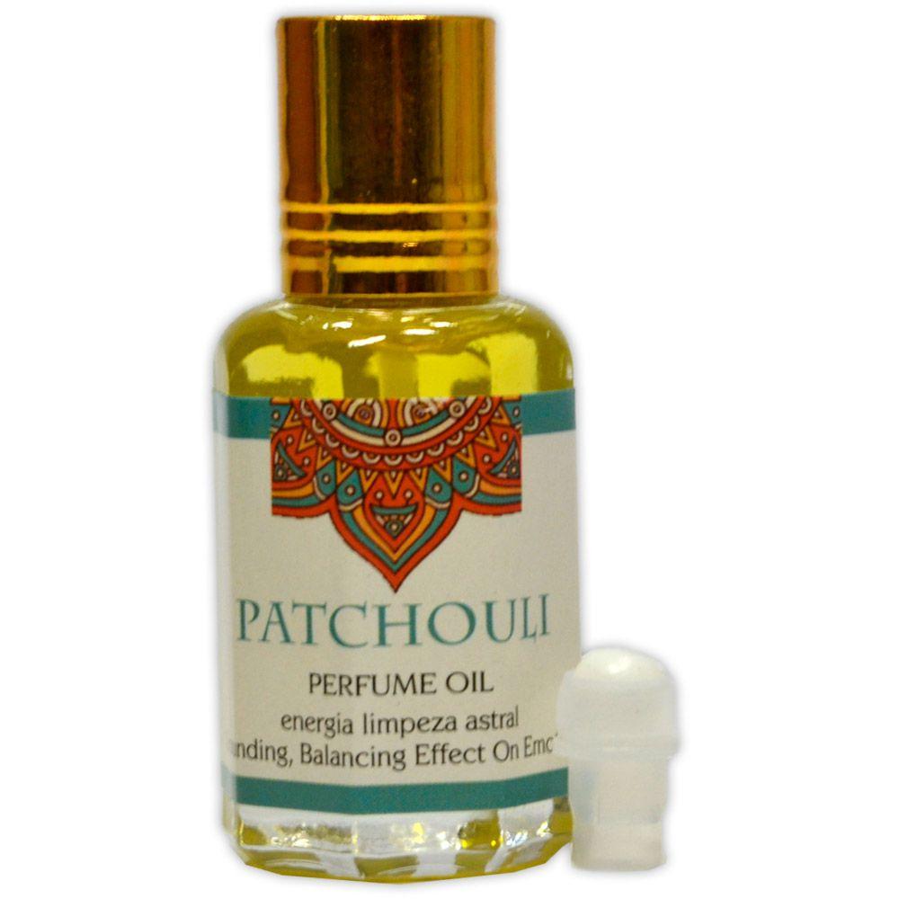 Perfume Indiano Patchouli - Energia Limpeza Astral