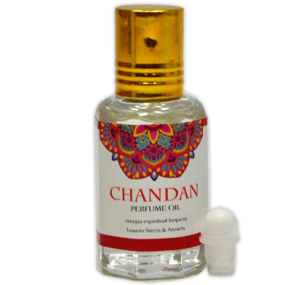 Perfume Indiano Sândalo Chandan - Energia Espiritual Limpeza