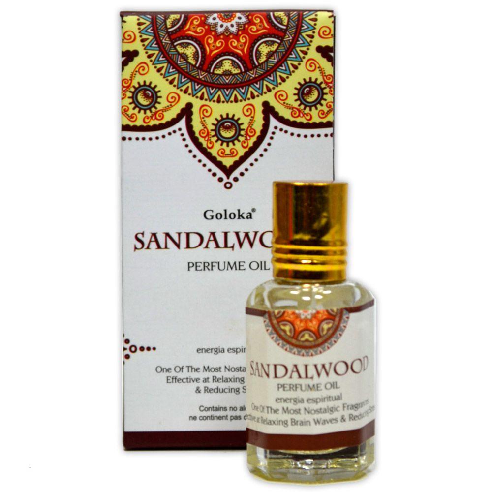 Perfume Indiano Sândalo Sandalwood - Energia Espiritual