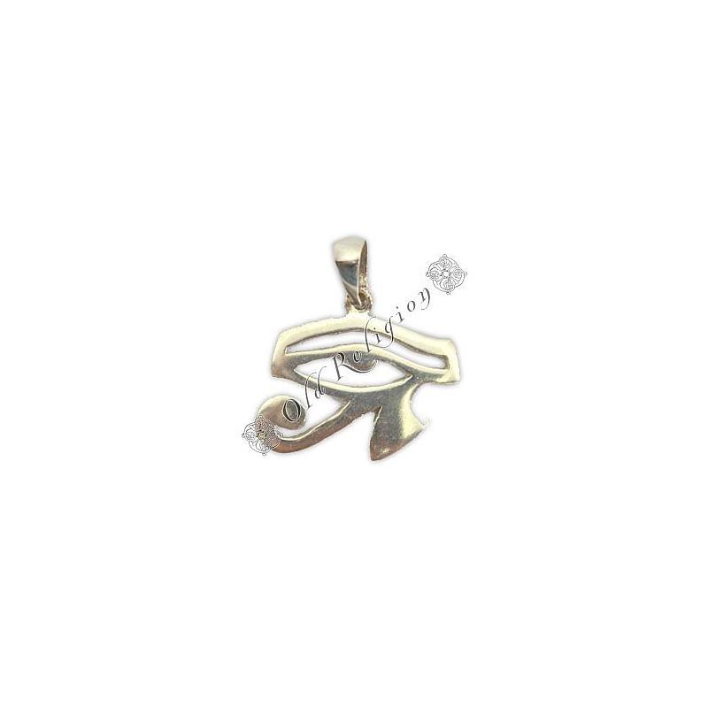 Pingente de Prata 925 - Olho de Hórus (M)