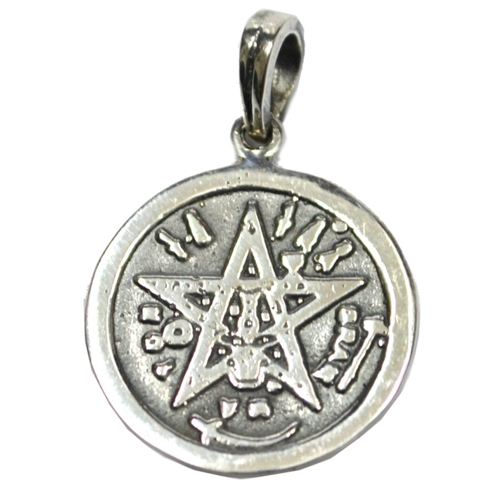 Talismã Tetragramaton - Prata 925
