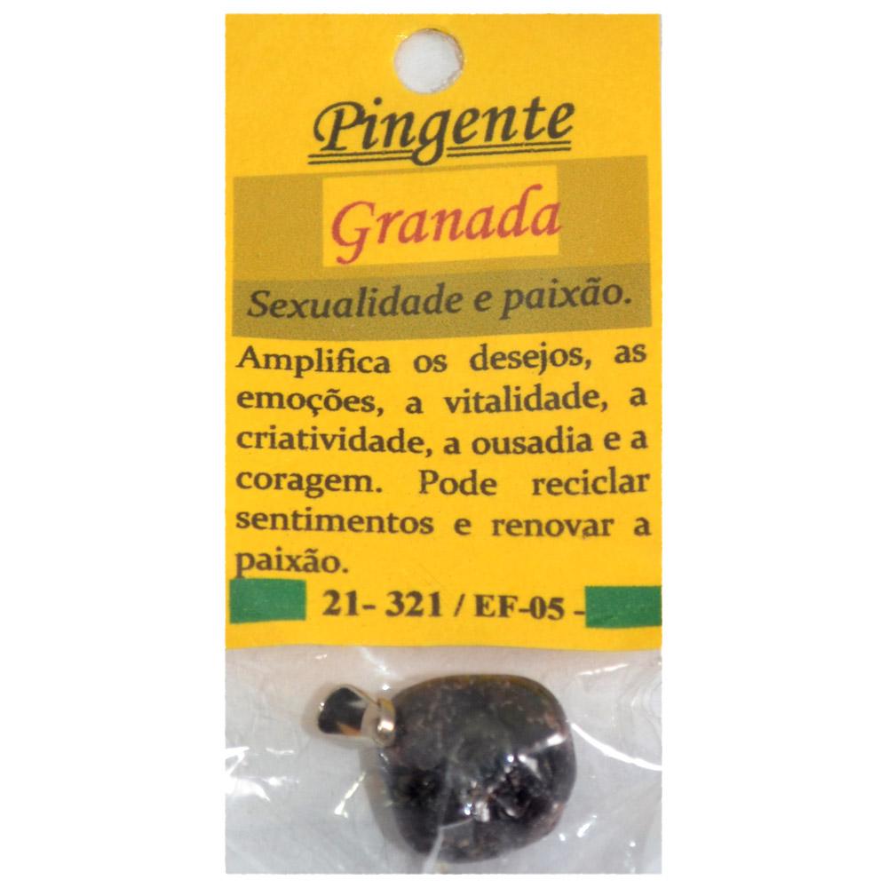 Pingente Granada - Sexualidade e Paixão