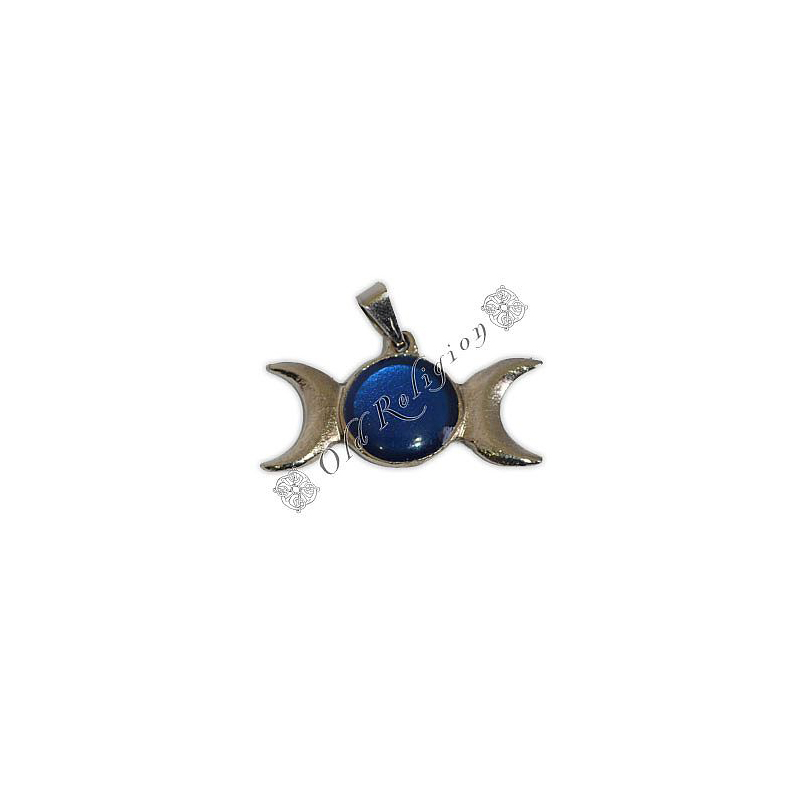 Pingente - Triluna Azul