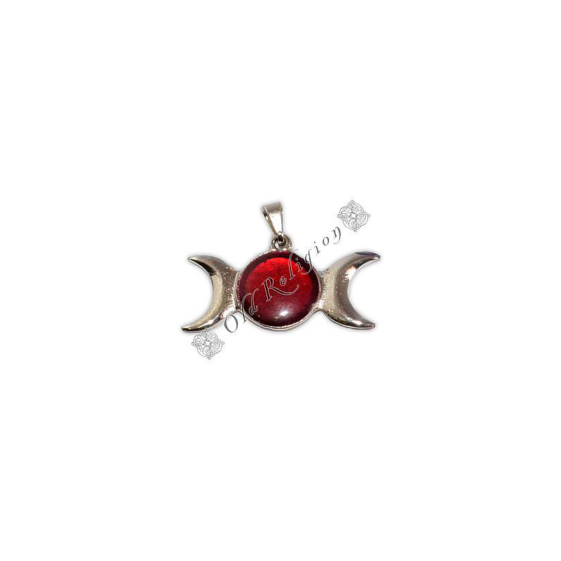 Pingente - Triluna Vermelho