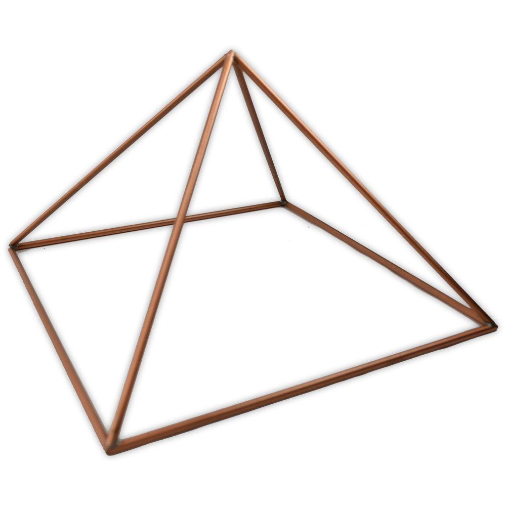 Pirâmide de Cobre Vazada - Grande