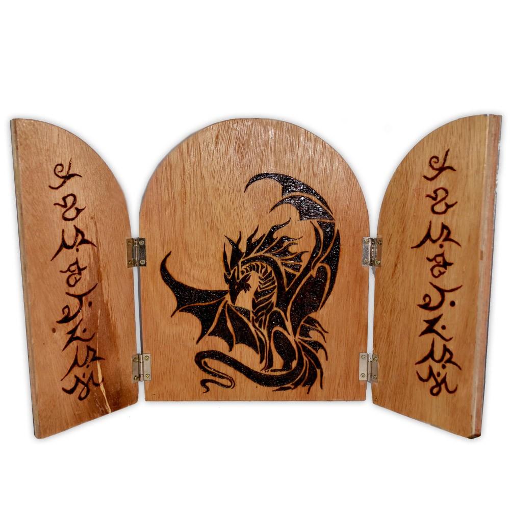Placa de Altar - Dragão