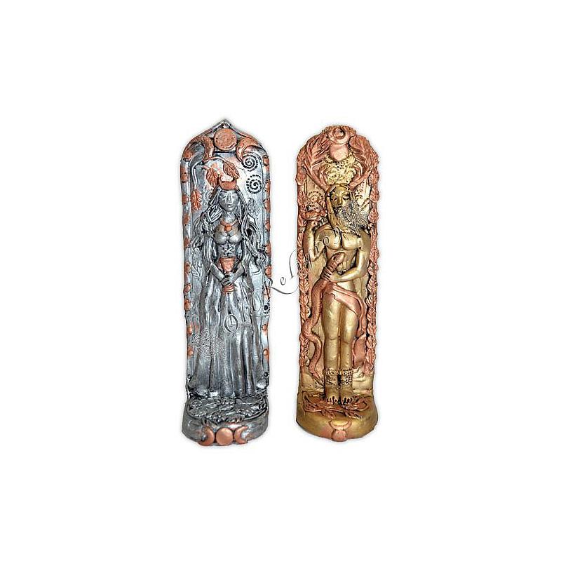 Placas de Altar - Casal de Deuses