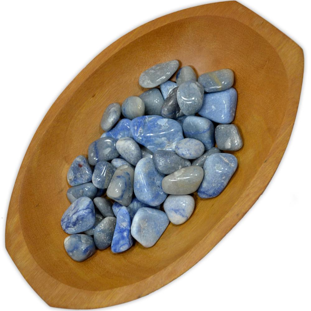 Quartzo Azul - Rolado