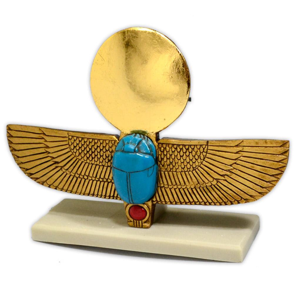 Réplica Museu Egípcio - Escaravelho Alado