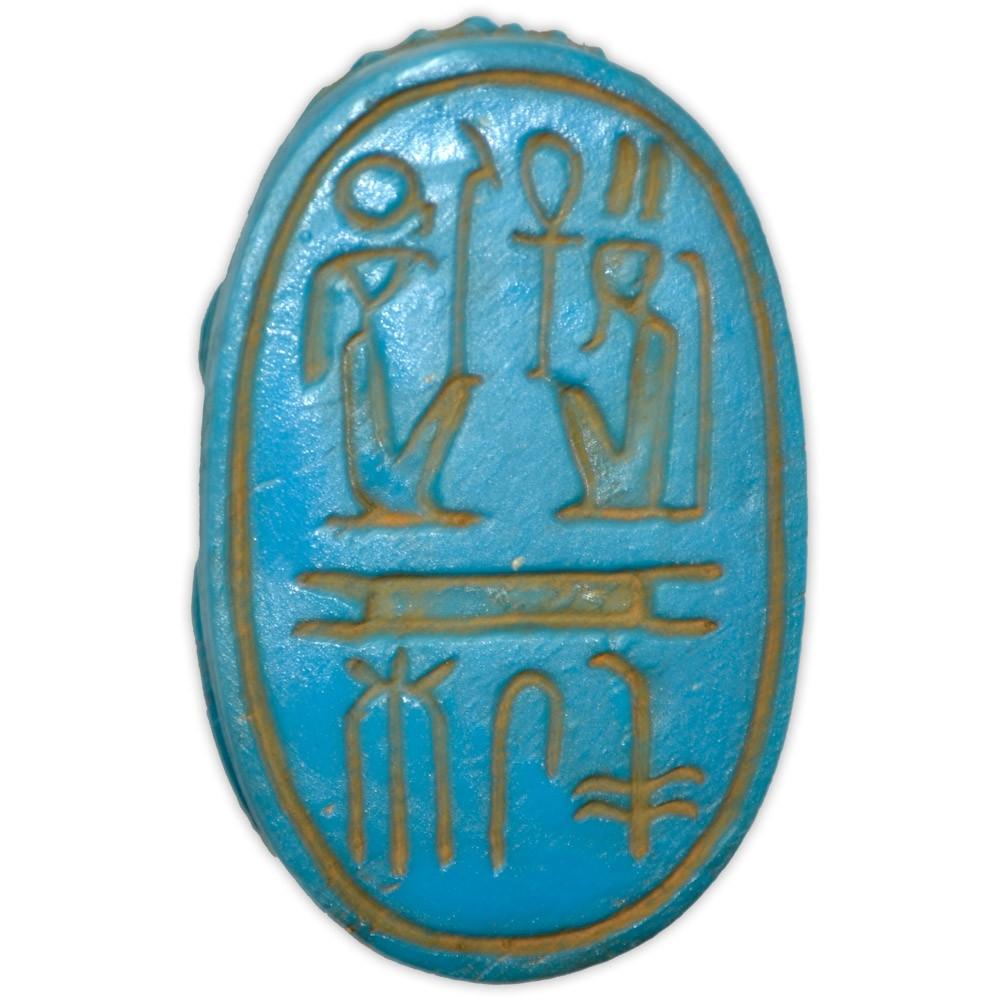 Réplica Museu Egípcio - Escaravelho Ramsés II