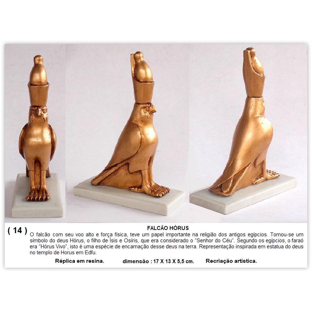 Réplica Museu Egípcio - Hórus Falcão