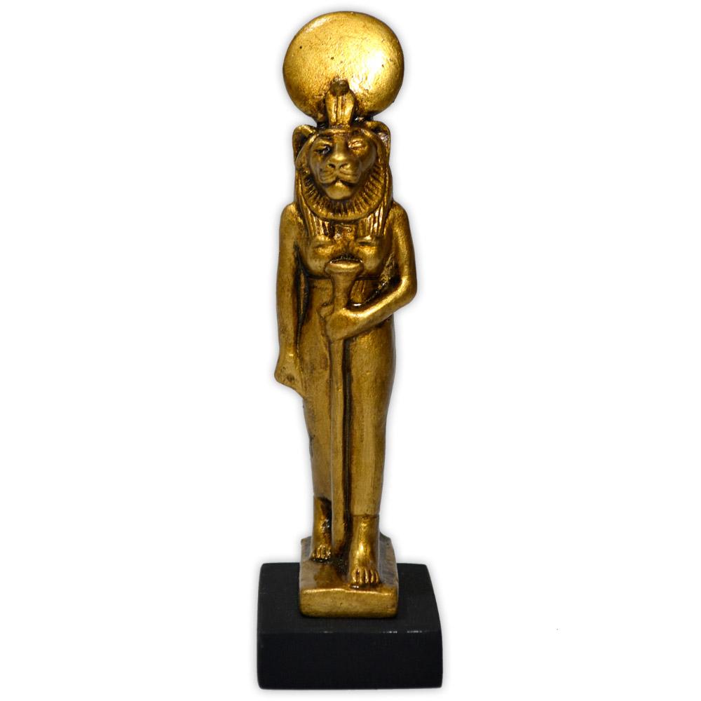 Réplica Museu Egípcio - Deusa Sekhmet Mini