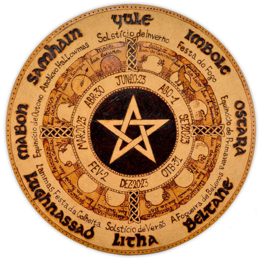 Roda do Ano 25cm - Pentagrama