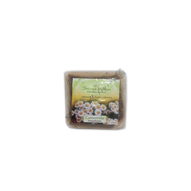 Sabonete de Argila - Camomila
