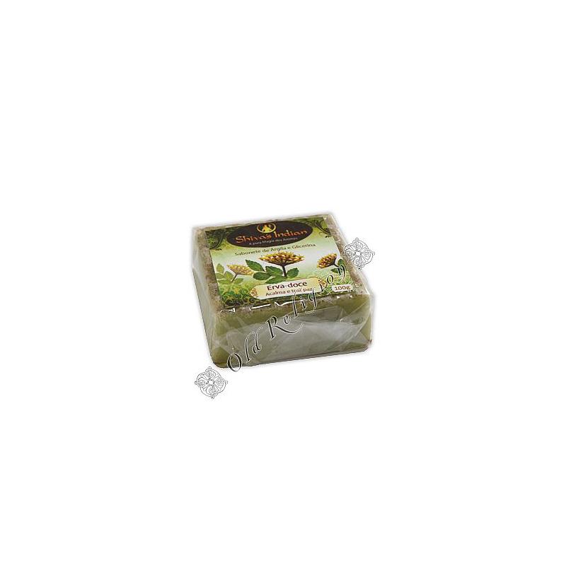 Sabonete de Argila - Erva Doce