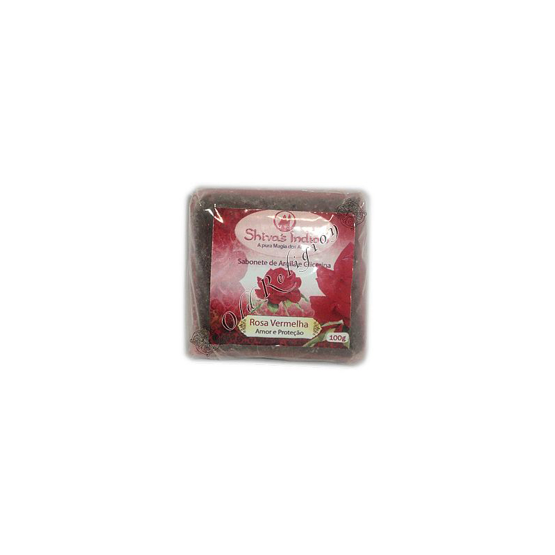 Sabonete de Argila - Rosa Vermelha