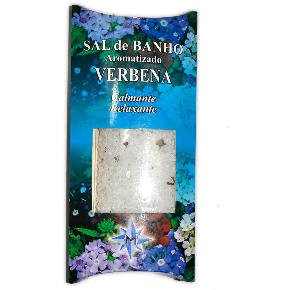 Sal de Banho Aromatizado Verbena - Calmante e Relaxante
