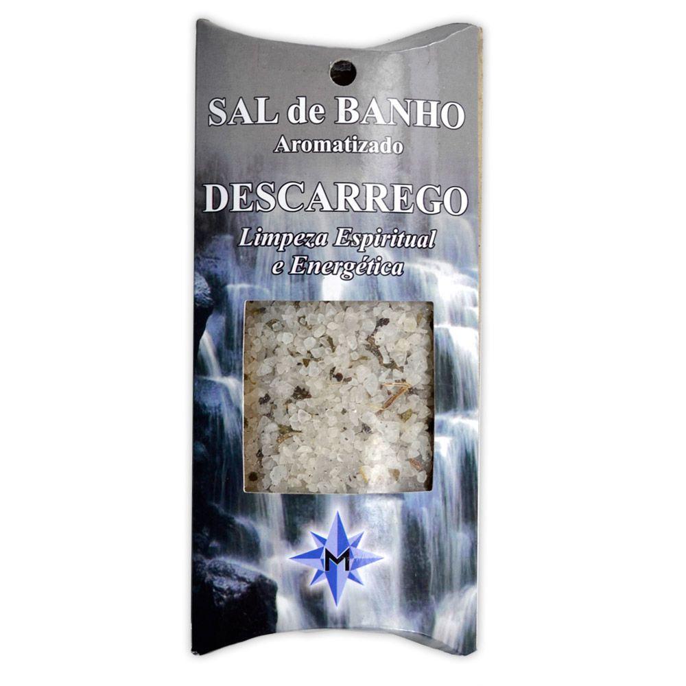 Sal de Banho Aromatizado Descarrego - Limpeza Espiritual e Energética