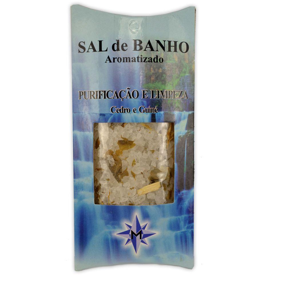 Sal Grosso Aromatizado Cedro e Guiné - Purificação e Limpeza
