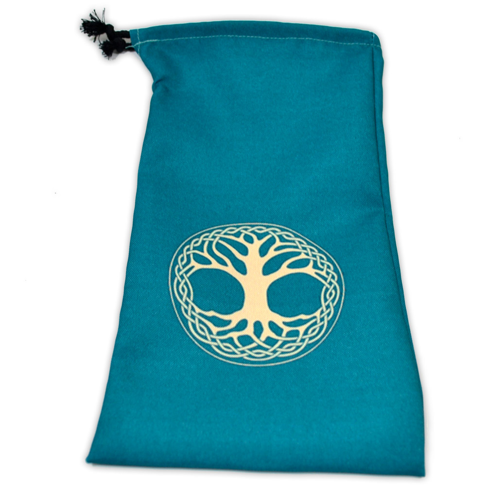 Saquinho para Oráculo Ygdrasil - verde
