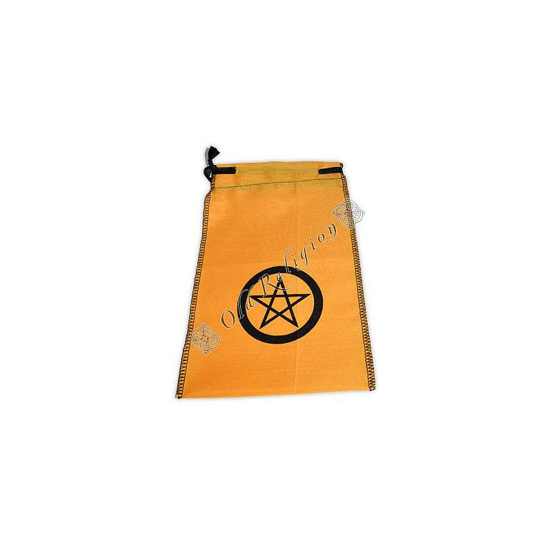 Saquinho para Tarô Pentagrama - Amarelo