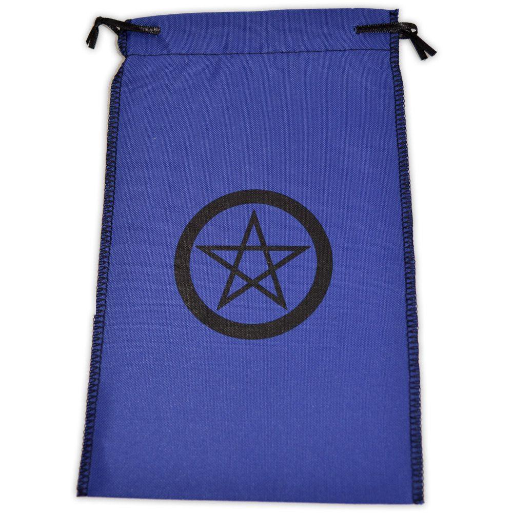 Saquinho para Tarô - Pentagrama Azul