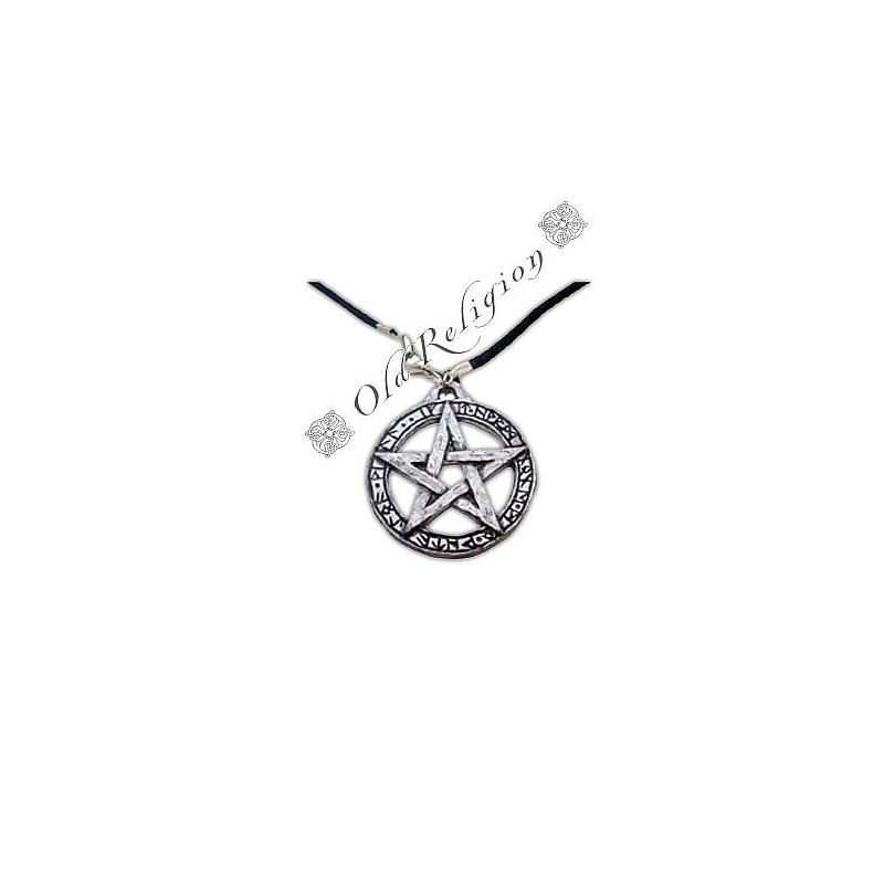 Talismã Colar Pentagrama - Lei Wicca