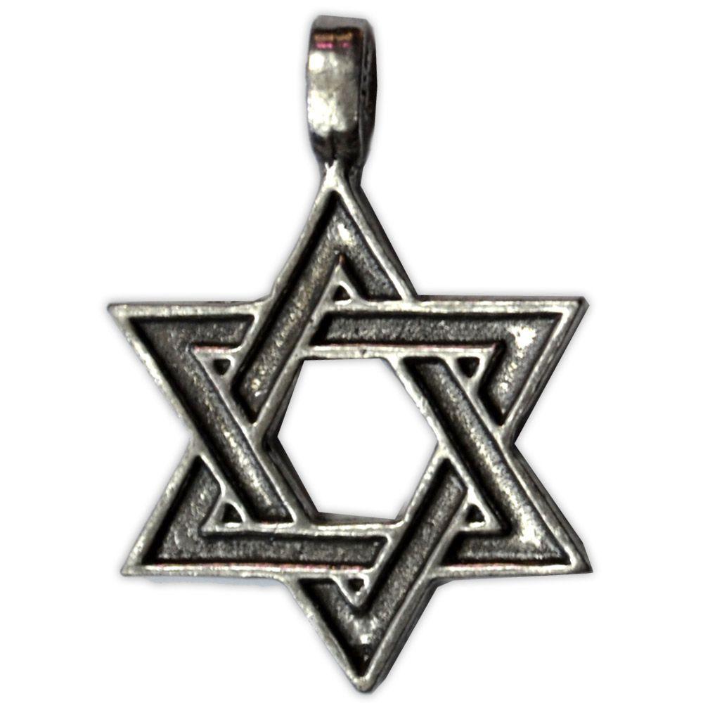 Talismã Pingente Estrela Hexagrama, União dos Opostos
