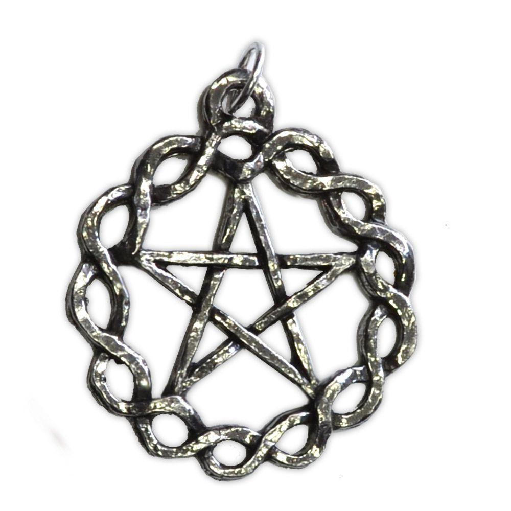 Talismã Pingente - Pentagrama Céltico Grande